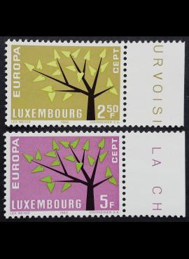 Liuksemburgas, pilna serija ScNr 386-387 MNH**