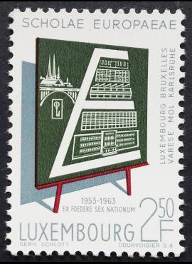Liuksemburgas ScNr 400 MNH**