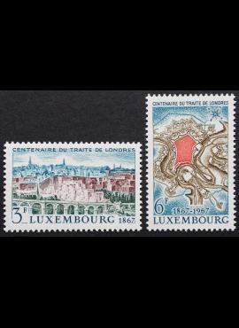 Liuksemburgas, pilna serija ScNr 447-448 MNH**
