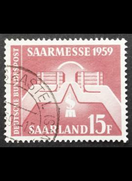 Saras MiNr 447 Used (O)