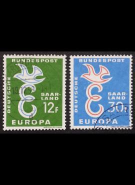 Saras, pilna serija MiNr 439-440 Used (O)