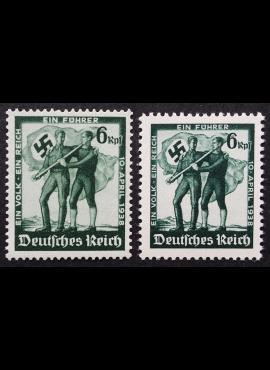 Vokietijos Reichas, MiNr 662-663 MNH**