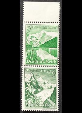 Vokietijos Reichas, MiNr 677+678 (S 245) MLH*/MH*