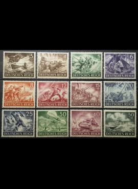 Vokietijos Reichas, pilna serija MiNr 831-842 MNH**