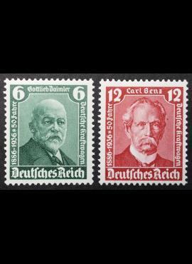 Vokietijos Reichas, pilna serija MiNr 604-605 MNH**