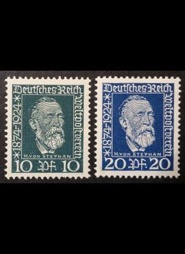 Vokietijos Reichas, pilna serija MiNr 368-369 MNH**