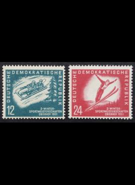 Vokietijos Demokratinė Respublika (VDR), pilna serija MiNr 280-281 MNH**