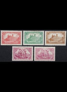 Vokietijos Reichas, pilna serija MiNr A113, 113-115 MLH*/MH*