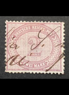 Vokietijos Reichas, MiNr 37 Used (O)