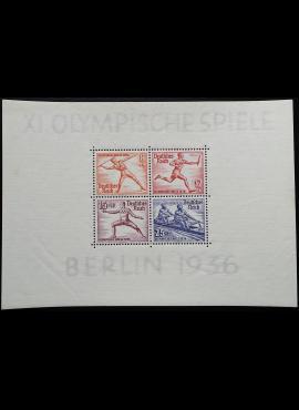 Vokietijos Reichas, Blokas 6, MiNr 628-631 MNH**