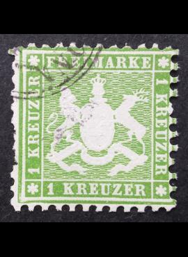 Senoji Vokietija, Viurtembergas, MiNr 25 Used (O)