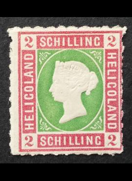 Senoji Vokietija, Helgolandas MiNr 3 MH*