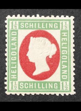 Senoji Vokietija, Helgolandas MiNr 10 MNG (*)