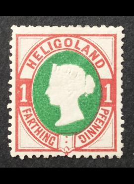 Senoji Vokietija, Helgolandas MiNr 11 MNG (*)