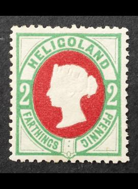 Senoji Vokietija, Helgolandas MiNr 12 MNG (*)