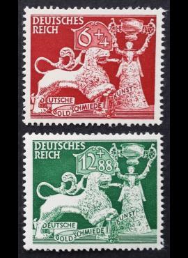 Vokietijos Reichas, pilna serija, MiNr 816-817 MNH**