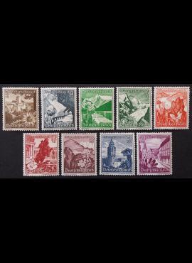 Vokietijos Reichas, pilna serija MiNr 675-683 MNH**/MLH*