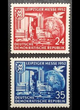 Vokietijos Demokratinė Respublika (VDR), pilna serija MiNr 315-316 MNH**/MLH*