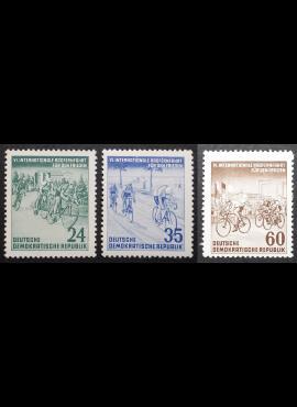 Vokietijos Demokratinė Respublika (VDR), pilna serija MiNr 355-357 MNH**/MLH*