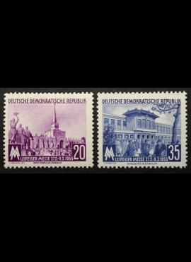 Vokietijos Demokratinė Respublika (VDR), pilna serija MiNr 447-448 MLH*