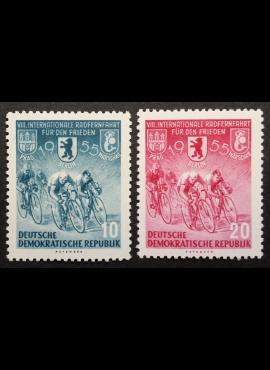 Vokietijos Demokratinė Respublika (VDR), pilna serija MiNr 470-471 MNH**