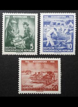Vokietijos Demokratinė Respublika (VDR), pilna serija MiNr 481-483 MNH**/MLH*