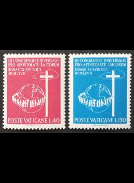 Vatikanas, pilna serija, MiNr 531-532 MNH**