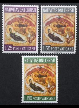 Vatikanas, pilna serija, MiNr 533-535 MNH**