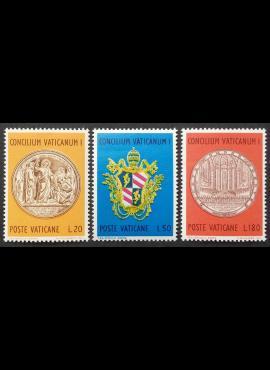 Vatikanas, pilna serija, MiNr 561-563 MNH**