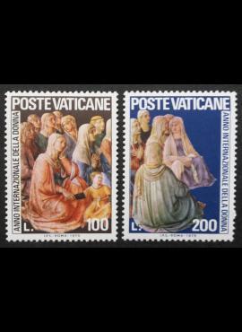 Vatikanas, pilna serija, MiNr 670-671 MNH**