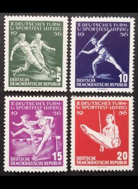 Vokietijos Demokratinė Respublika (VDR), pilna serija MiNr 530-533 MNH**