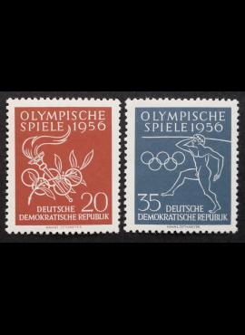 Vokietijos Demokratinė Respublika (VDR), pilna serija MiNr 539-540 MNH**