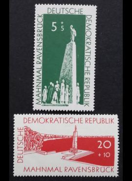 Vokietijos Demokratinė Respublika (VDR), pilna serija MiNr 566-567 MNH**