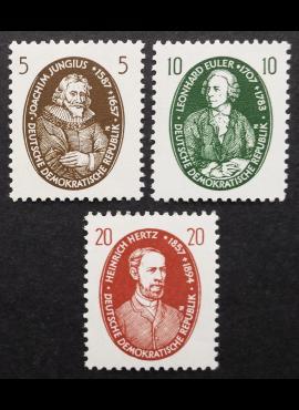 Vokietijos Demokratinė Respublika (VDR), pilna serija MiNr 574-576 MNH**