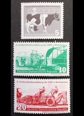 Vokietijos Demokratinė Respublika (VDR), pilna serija MiNr 628-630 MNH**