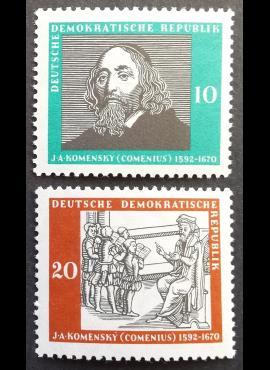 Vokietijos Demokratinė Respublika (VDR), pilna serija MiNr 643-644 MNH**