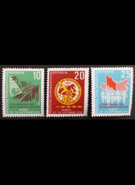 Vokietijos Demokratinė Respublika (VDR), pilna serija MiNr 657-659 MNH**