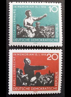 Vokietijos Demokratinė Respublika (VDR), pilna serija MiNr 674-675 MNH**