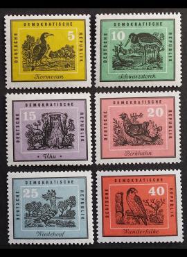 Vokietijos Demokratinė Respublika (VDR), pilna serija MiNr 698-703 MNH**