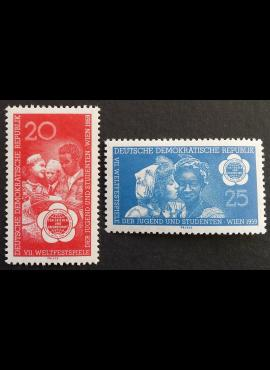 Vokietijos Demokratinė Respublika (VDR), pilna serija MiNr 705-706 MNH**