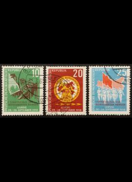 Vokietijos Demokratinė Respublika (VDR), pilna serija MiNr 657-659 Used (O)
