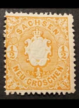 Senoji Vokietija, Saksonija, MiNr 15 MNH**