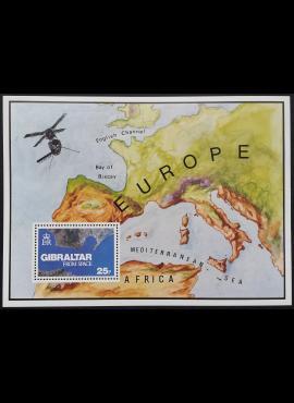 Gibraltaras, Blokas Nr. 5, MiNr 372 MNH**
