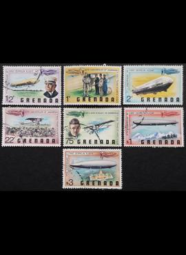 Grenada, pilna serija ScNr 834-840 Used (O)/MNH**