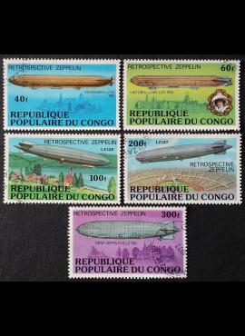 Kongas, pilna serija ScNr 408-412 Used (O)