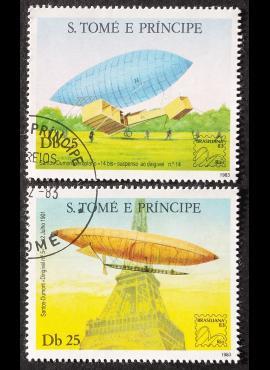 San Tomė ir Prinsipė, pilna serija ScNr 699 a-b Used (O)