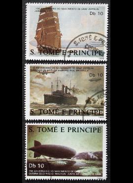 San Tomė ir Prinsipė ScNr 829 a-c Used (O)