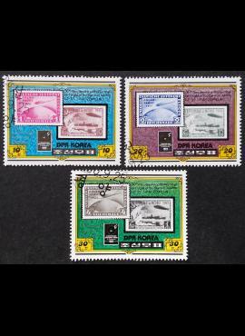 Šiaurės Korėja, pilna serija ScNr 1987-1989 Used (O)