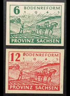 Pokario Vokietija, Sovietų zona, pilna serija, MiNr 85-86 MNH**
