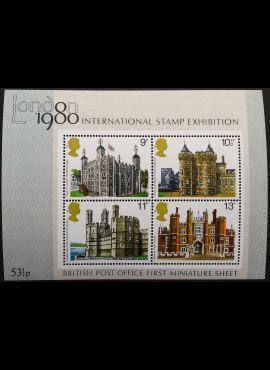 Didžioji Britanija, blokas Nr. 1, MiNr 760-763 MNH**